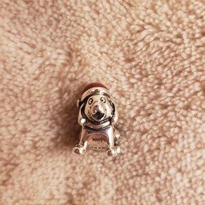 Christmas Dog Pandora Charm